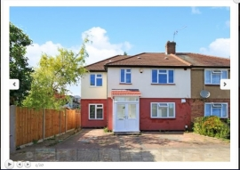 2 flats in a converted house-harrow